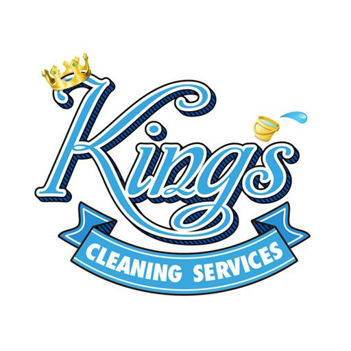 Kings Cleaning Logo Square